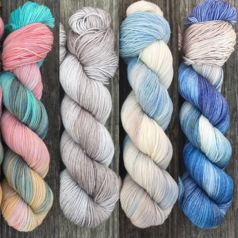 I,Want,to,Be,THE,Queen,FADE,KIT,~,Game,of,Thrones,Inspired,Yarn,yarn, Hand dyed, kettle dyed, Game of Thrones, game of thrones yarn, wool, handdyed, fade kit, find your fade, so faded, comfort fade
