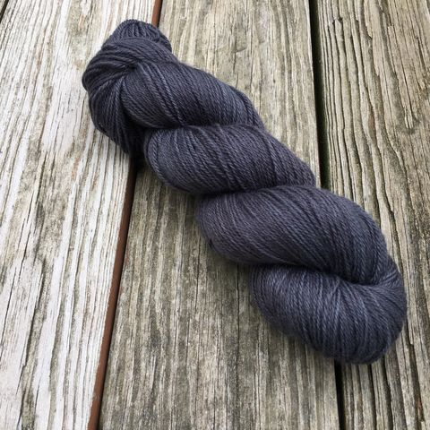 Pewter,yarn, hand dyed, wool, color work yarn, colorwork, handdyed, indie dyed, tonal, solid