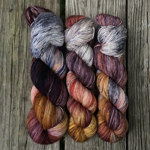 Professor,Lupin,~,Harry,Potter,Inspired,Yarn,yarn, Hand dyed, kettle dyed, Harry Potter, Prisoner of Azkaban, Professor Lupin