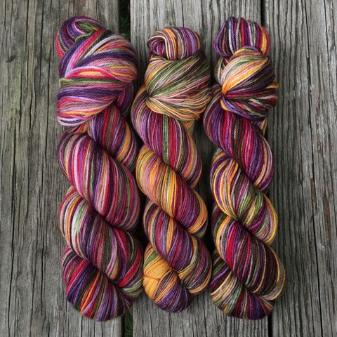 Mrs.,Weasley's,Knits,~,Harry,Potter,Inspired,Yarn,yarn, Hand dyed, kettle dyed, Harry Potter, The Sorcerer's Stone, Mrs. Weasley, Mrs. Weasley's Knits