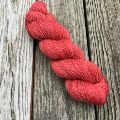 Terra-cotta,yarn, hand dyed, wool, color work yarn, colorwork, handdyed, indie dyed, tonal, solid