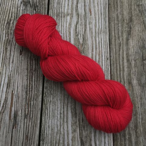 Scarlet,Fever,yarn, hand dyed, wool, color work yarn, colorwork, handdyed, indie dyed, tonal, solid