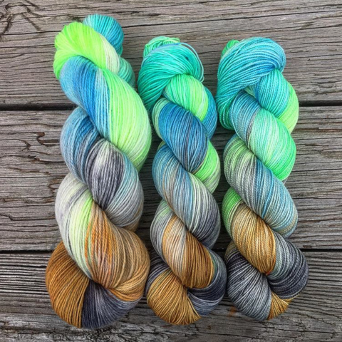 Potions,Class,~,Harry,Potter,Inspired,Yarn,yarn, Hand dyed, kettle dyed, Harry Potter, potion yarn, harry potter yarn, hogwarts yarn, magic yarn