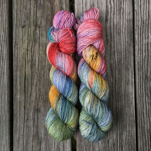 The,Quibbler,~,Harry,Potter,Inspired,Yarn,yarn, Hand dyed, kettle dyed, Harry Potter, potion yarn, harry potter yarn, hogwarts yarn, luna lovegood, the quibbler, magic yarn