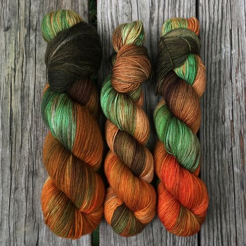 Ron,Weasley,~,Harry,Potter,Inspired,Yarn,yarn, Hand dyed, kettle dyed, Harry Potter, potion yarn, harry potter yarn, hogwarts yarn, ron yarn, ron weasley yarn, hermione, hermione yarn, magic yarn