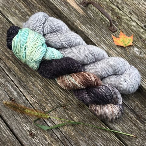 Dementors,Kit,yarn, Hand dyed, kettle dyed, wool, handdyed, fade kit, find your fade, so faded, comfort fade