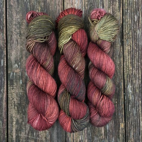 Frodo,Baggins,~,Lord,of,the,Rings,Inspired,Yarn,Hobbit, yarn, superwash, handdyed, kettle dyed, Mirkwood, middle earth, lord of the rings