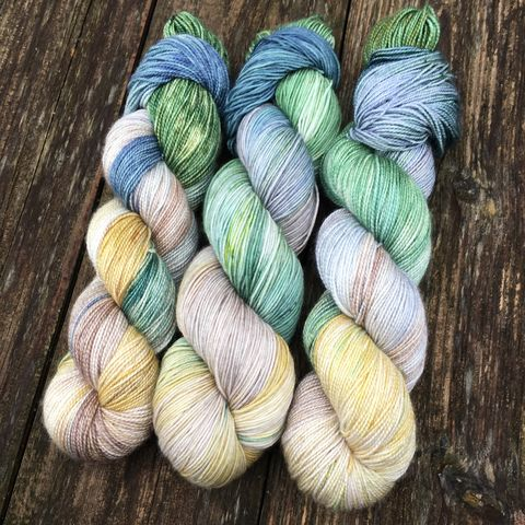 Rivendell,~,Lord,of,the,Rings,Inspired,Yarn,Hobbit, yarn, superwash, handdyed, kettle dyed, Mirkwood, middle earth, lord of the rings