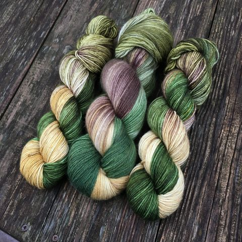 Legolas,,Prince,of,the,Woodland,Realm,~,Lord,Rings,Inspired,Yarn,Hobbit, yarn, superwash, handdyed, kettle dyed, Mirkwood, middle earth, lord of the rings