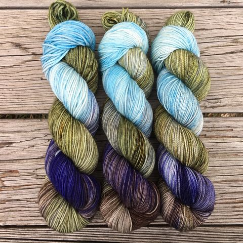 We're,Going,to,See,the,Elves!,~,Lord,of,Rings,Inspired,Yarn,Hobbit, yarn, superwash, handdyed, kettle dyed, Mirkwood, middle earth, lord of the rings