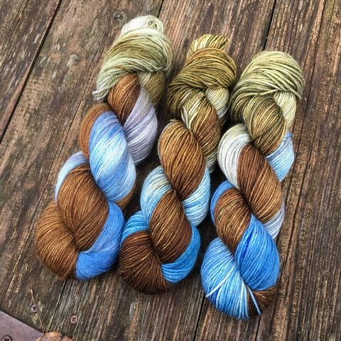Peregrin,'Pippin',Took,~,Lord,of,the,Rings,Inspired,Yarn,Hobbit, yarn, superwash, handdyed, kettle dyed, Mirkwood, middle earth, lord of the rings