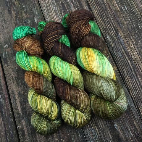 Meriadoc,'Merry',Brandybuck,~,Lord,of,the,Rings,Inspired,Yarn,Hobbit, yarn, superwash, handdyed, kettle dyed, Mirkwood, middle earth, lord of the rings