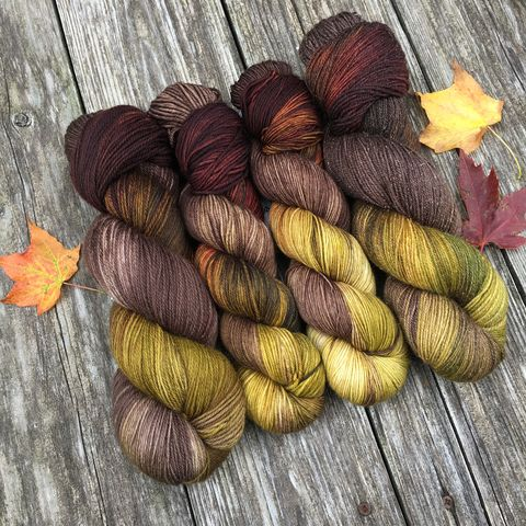 Fangorn,Forest,~,Lord,of,the,Rings,Inspired,Yarn,Hobbit, yarn, superwash, handdyed, kettle dyed, Mirkwood, middle earth, lord of the rings