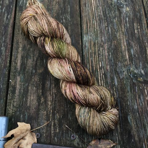 Entmoot,~,Lord,of,the,Rings,Inspired,Yarn,Hobbit, yarn, superwash, handdyed, kettle dyed, Mirkwood, middle earth, lord of the rings