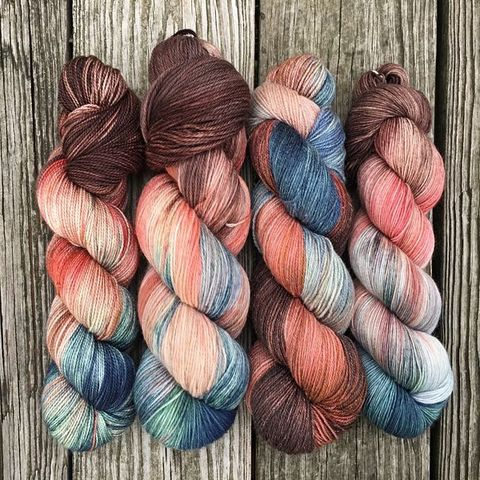 Claire,~,Outlander,Inspired,Yarn, Claire, yarn, hand dyed, kettle dyed
