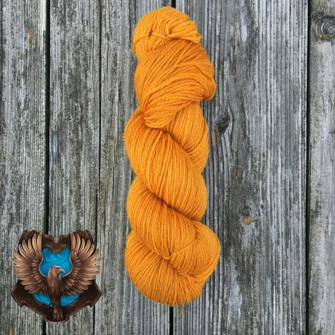 Quidditch,Ravenclaw,Bronze,yarn, kettle dyed, indiedyed yarn, solid yarn, tonal yarn