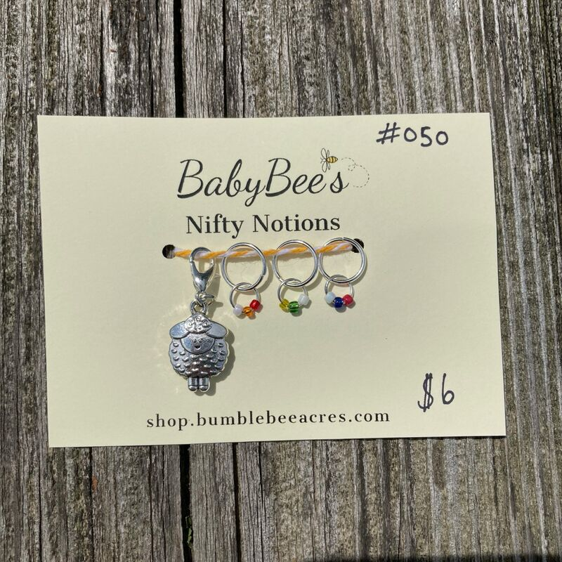 BabyBee's Nifty Notions Set #050 Rainbow Sheep! - product image