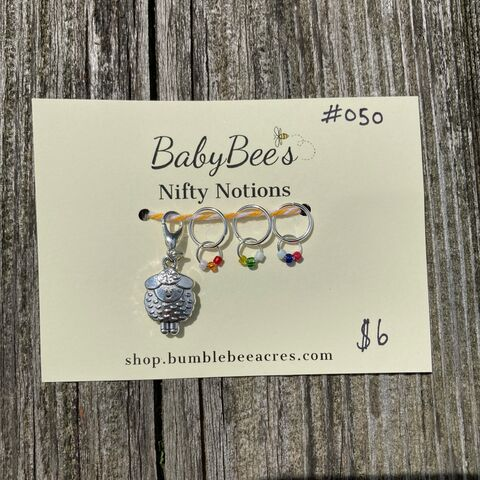 BabyBee's,Nifty,Notions,Set,#050,Rainbow,Sheep!