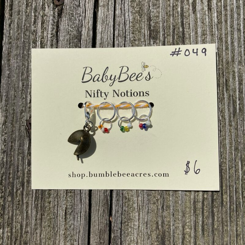 BabyBee's Nifty Notions Set #049 Rainbow Fortune Cookie! - product images