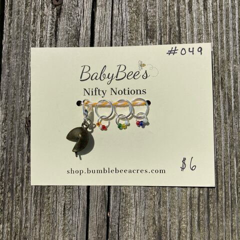 BabyBee's,Nifty,Notions,Set,#049,Rainbow,Fortune,Cookie!