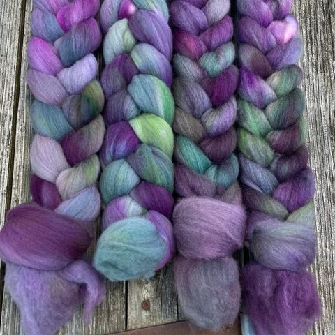 Bilbo's,Trolls,~,Lord,of,the,Rings,Inspired,PAINTED,TOP,Hobbit, yarn, superwash, handdyed, kettle dyed, Mirkwood, middle earth, lord of the rings