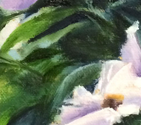 "Floral Peony Original Oil Painting on Canvas, ""Peony Garden"" - product images  of"