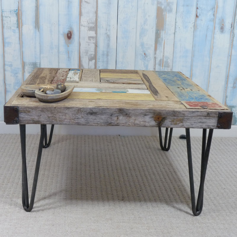 Whale Wharf Driftwood Side Table - product images  of