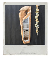 Red Cedar Driftwood Mirror - product images  of