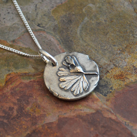 Geranium,Leaf,Necklace,,Dainty,Botanical,Pendant,,Sterling,Silver,Carolina cranesbill necklace, geranium leaf pendant, nature jewelry, prairie wildflower necklace, kansas necklace, leaf necklace, gayle dowell, sterling silver necklace, layering necklace, earthy necklace, rustic necklace, artisan jewelry, handmade neckla