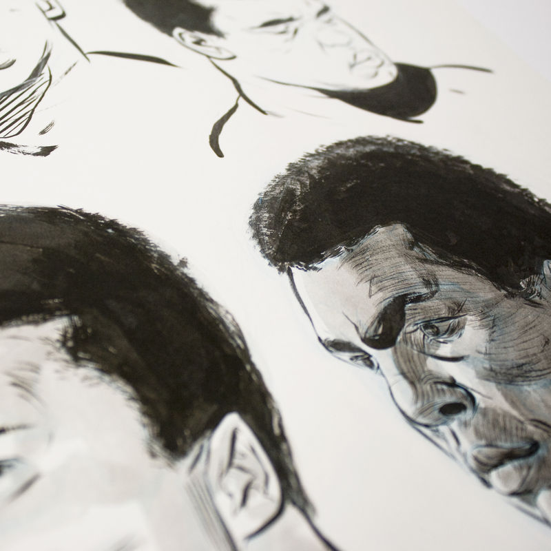 Ali | Original Drawing - product images  of