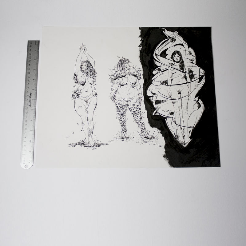 Demons 4 | Original Drawing - product images  of