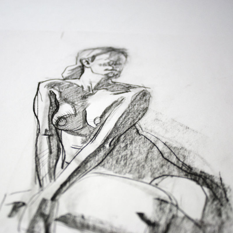 Set of Female Nudes | Original Drawings - product images  of