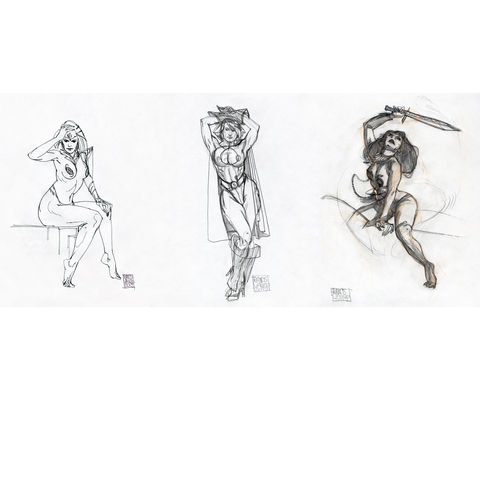 Super,Women,|,Original,Drawings