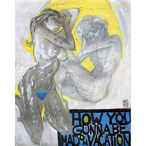 Mad,on,Vacation,|,Original,Painting,-,SOLD
