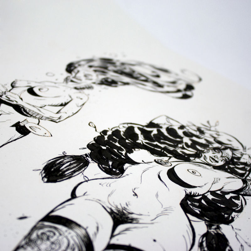 Demons 1 | Original Drawing - product images  of