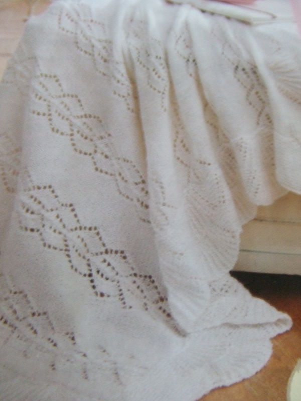 Knit Pattern For A Baby Blanket - product images  of