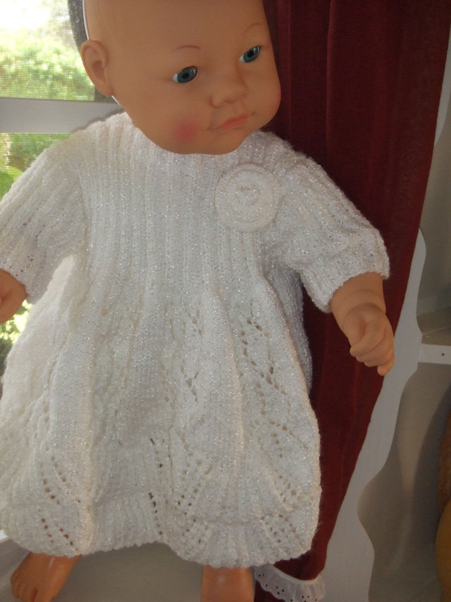Pattern for Toddlers Knit Party Dress - Pretty Lady Knits