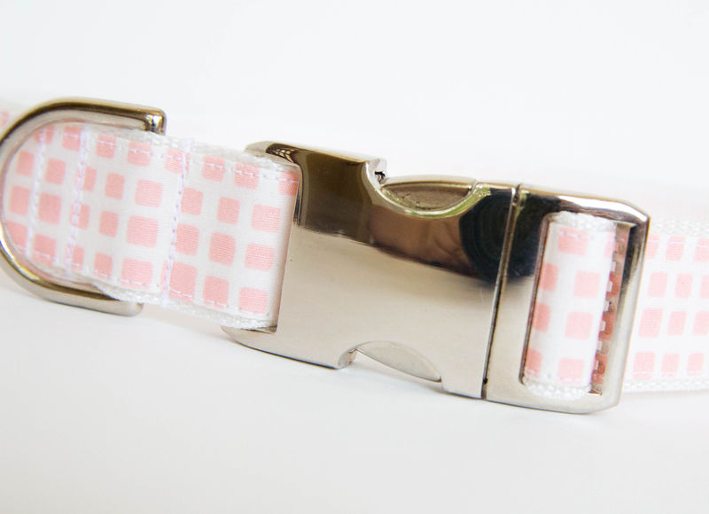 Happy Racquet Dog Collar in Ballet Pink - product images  of