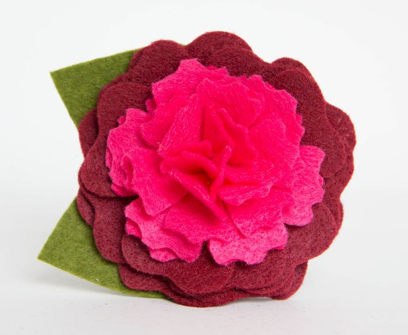 Dog Collar Flower - Autumn Peony - product images  of