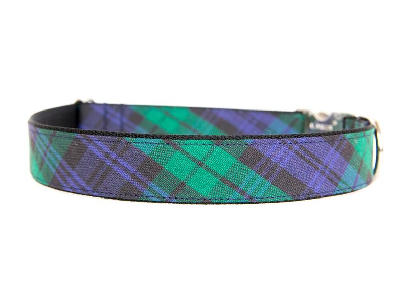 Blackwatch Plaid Dog Collar - product images  of
