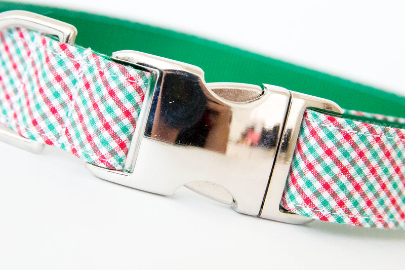 Christmas Dog Collar - Holiday Check - product images  of