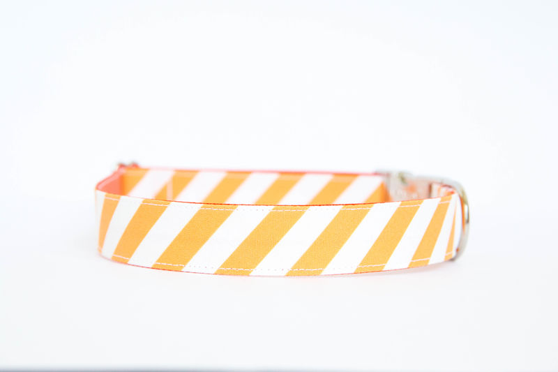 Tennessee Vols Striped Bowtie Dog Collar - product images  of