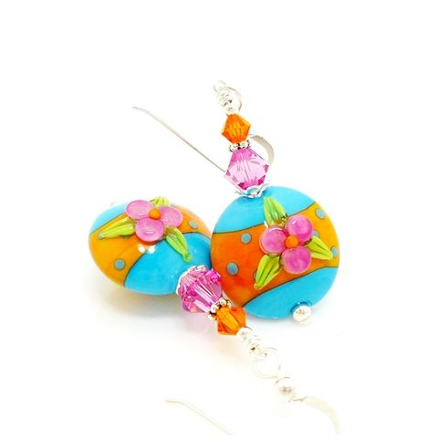 Floral,Southwestern,Earrings