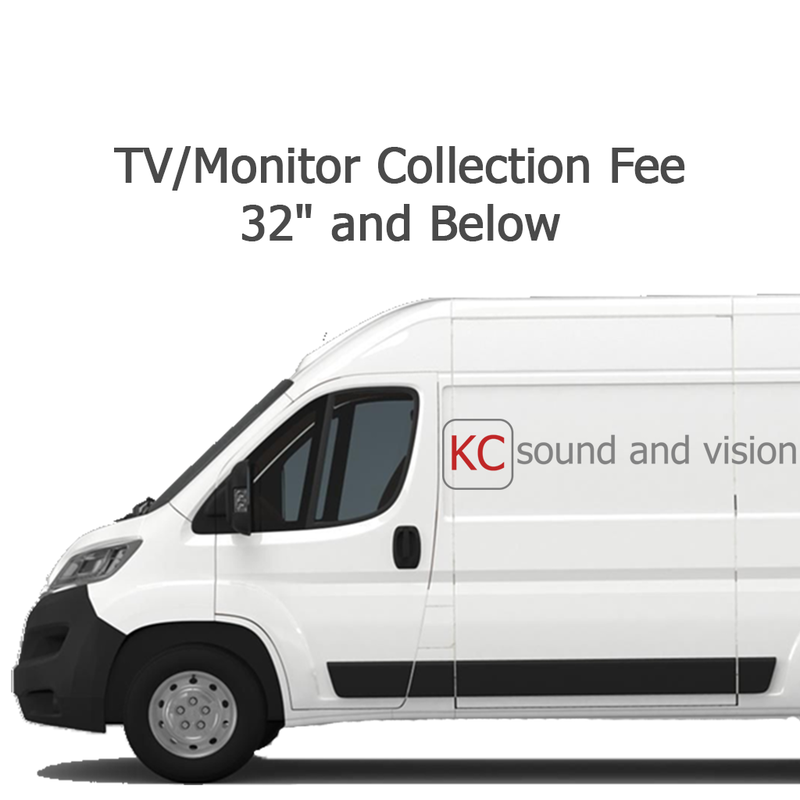 TV/Monitor Collection Fee - 32