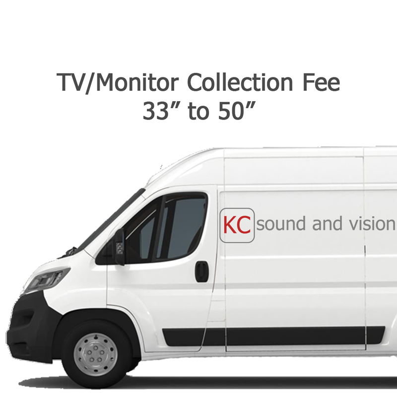 TV/Monitor Collection Fee - 33