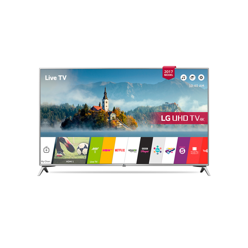 "LG 55UJ651V - 55"" Active HDR 4K Ultra HD LED Smart TV with webOS 3.5 & Freeview HD & WiFi - Manufacturer Refurbished - product images  of"