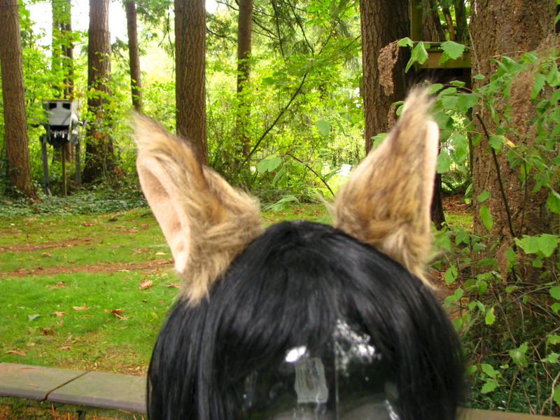 Animal Ear Hair Clips - Faux Fur Cosplay Costume Ears - product image