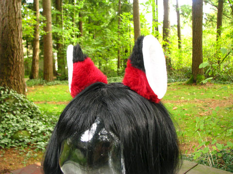 Red,Fox,Ears,Faux,Fur,Ear,Hair,Clips,Accessories,Clip,fox_ears,ear_clips,fox_hair_clips,cosplay,faux_fur_ears,furry_ears,halloween,costume,red_fox,animal_ears,animal_hair_clips,fox_costume,fox_cosplay,faux fur,fleece,hair clip