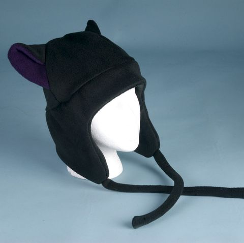 Fleece,Hat,Kitty,Cat,Ear,-,Black,/,Aubergine,Eggplant,Purple,Aviator,Style,Earflap,ningen,Accessories,Animal,purple,earflap,kitty_cat,cosplay,lolita,cat_ears,aviator_hat,ski_hat,cat_hat,mens_hat,womens_hat,goth_hat,cat_ear_hat,fleece
