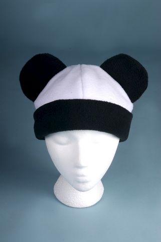 Panda,Bear,Hat,ningen,Accessories,Animal,black,white,panda,bear,anime,kawaii_hat,panda_hat,panda_bear,bear_hat,hats_with_ears,Halloween_hat,mens_hat,womens_hat,fleece